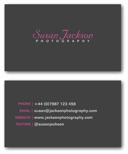 Photographer Business Card Template Lovely Best 25 Business Card Templates Ideas On Pinterest