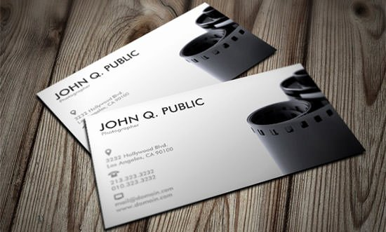 Photographer Business Card Template Luxury 45 Premium Business Card Templates for Professional Graphers Psd Vector Eps