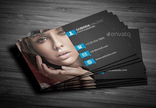 Photographer Business Card Template Luxury A List Of Exceptional Graphy Business Card Templates Creativevore