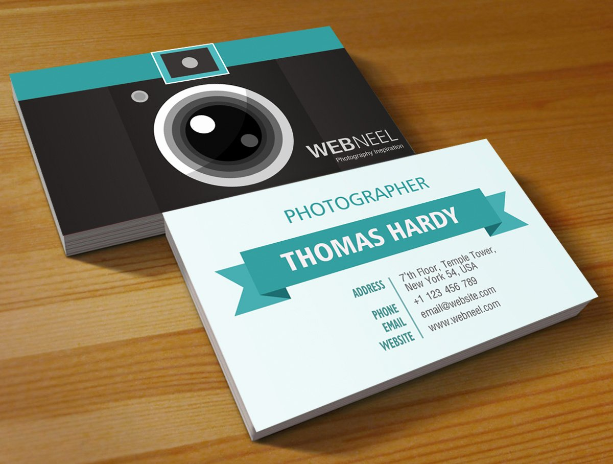 Photographer Business Card Template Unique Graphy Business Card Design Template 39 Free Printing Business Card Templates