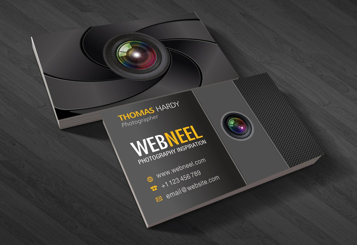 Photography Business Card Design Fresh Graphy Business Card Design Template 40 Free Printing Business Card Templates