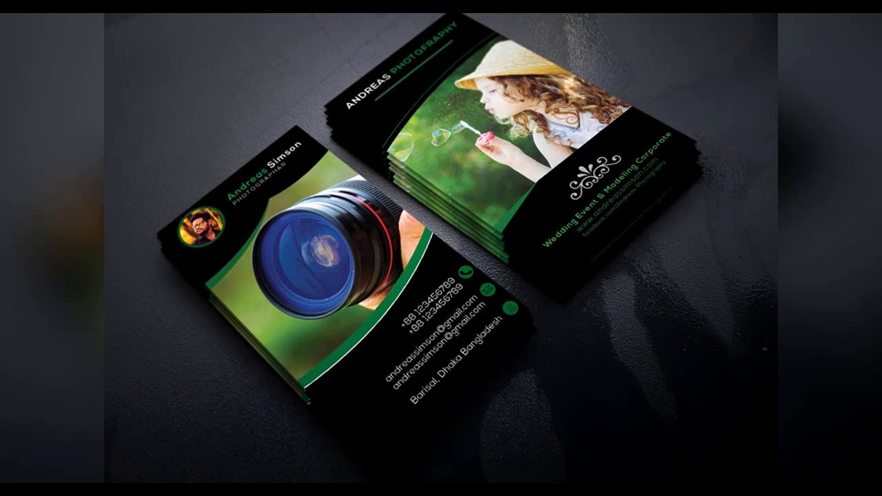 Photography Business Card Design Inspirational Graphy Business Card Design