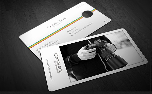 Photography Business Card Design Lovely 28 Graphy Business Cards Free Psd Vector Ai Eps format Download