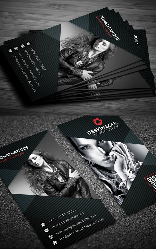 Photography Business Card Design Luxury Graphy Business Card Templates Design