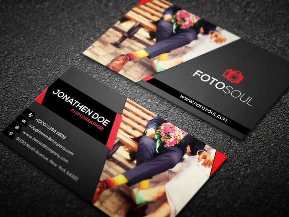 Photography Business Card Design Unique Graphy Business Card Templates Design