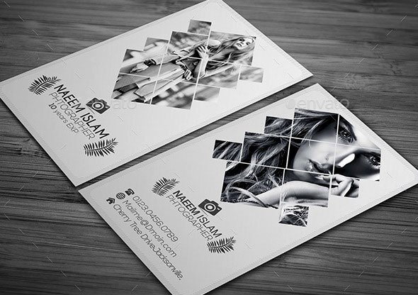 Photography Business Card Examples Fresh 25 Modern Graphy Business Card Design Templates