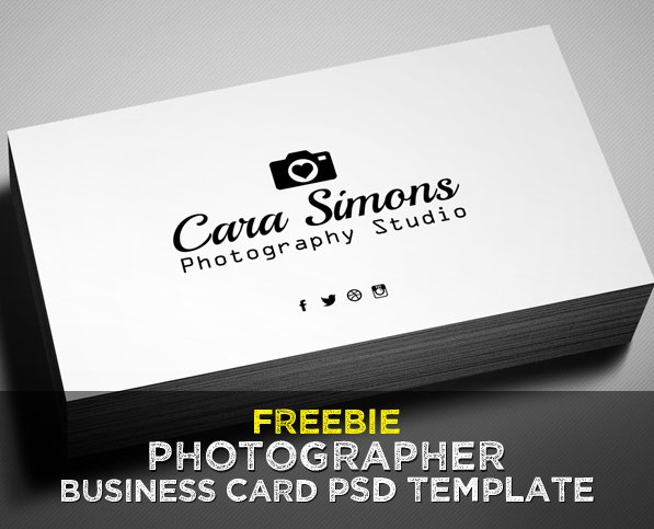 Photography Business Card Examples Fresh Freebie – Grapher Business Card Psd Template Freebies