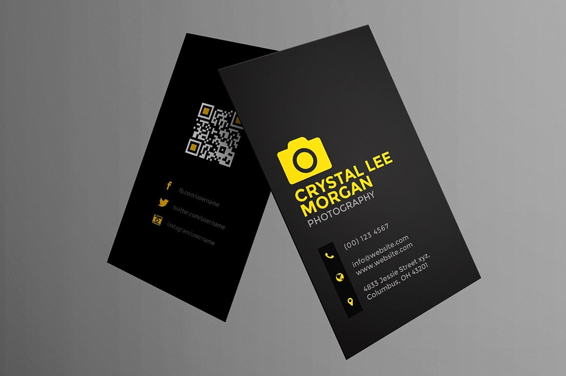 Photography Business Card Examples Fresh Graphy Business Card Business Card Templates Creative Market