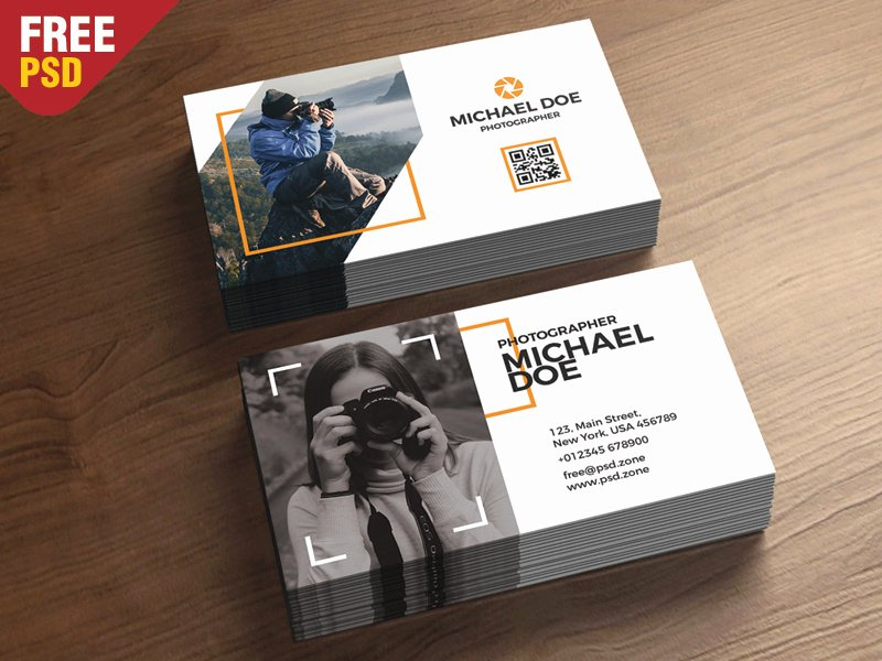graphy Business Cards Template PSD