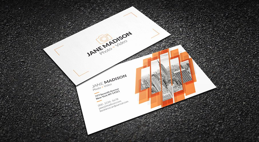 Photography Business Card Template Awesome [download] top 10 Business Card Free Psd
