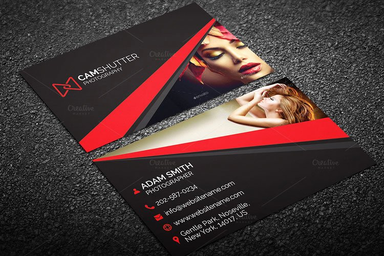 Photography Business Card Template Inspirational 10 Best Graphy Business Card Templates Designerslib