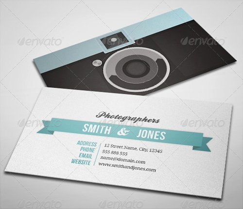 Photography Business Card Template Inspirational 15 Creative Graphy Business Card Templates