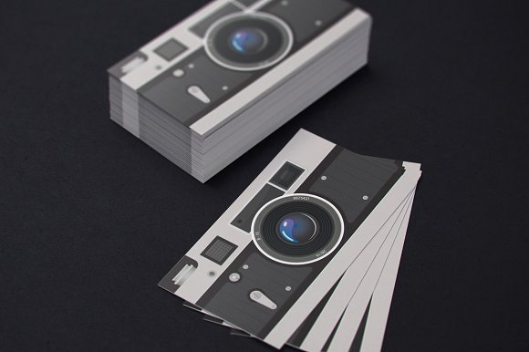 Photography Business Card Template Luxury Grapher Business Card Business Card Templates Creative Market