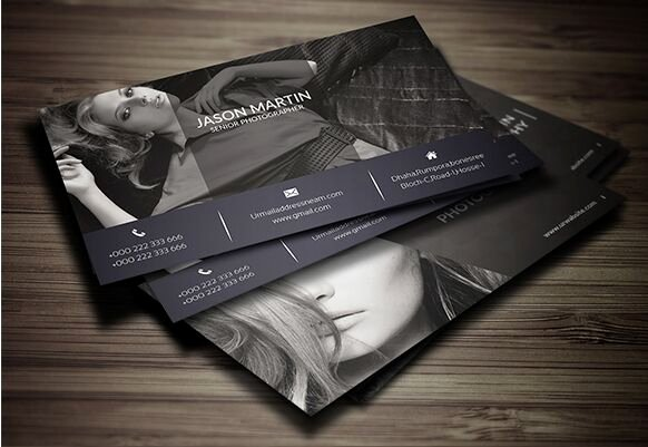 Photography Business Card Template Unique Free Print Ready Graphy Business Card Template Psd Titanui