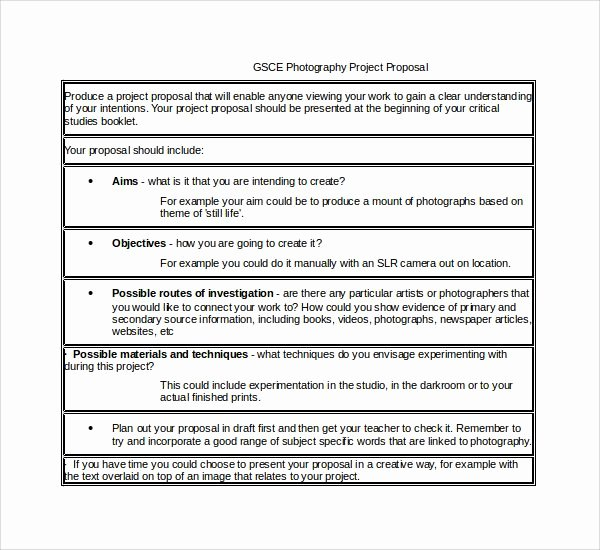 Photography Business Plan Pdf Elegant Sample Graphy Proposal Template 9 Free Documents