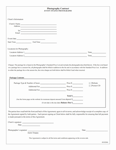 Photography Contract Template Pdf Best Of Graphy Contract Template Free Download Create Edit Fill and Print Wondershare Pdfelement