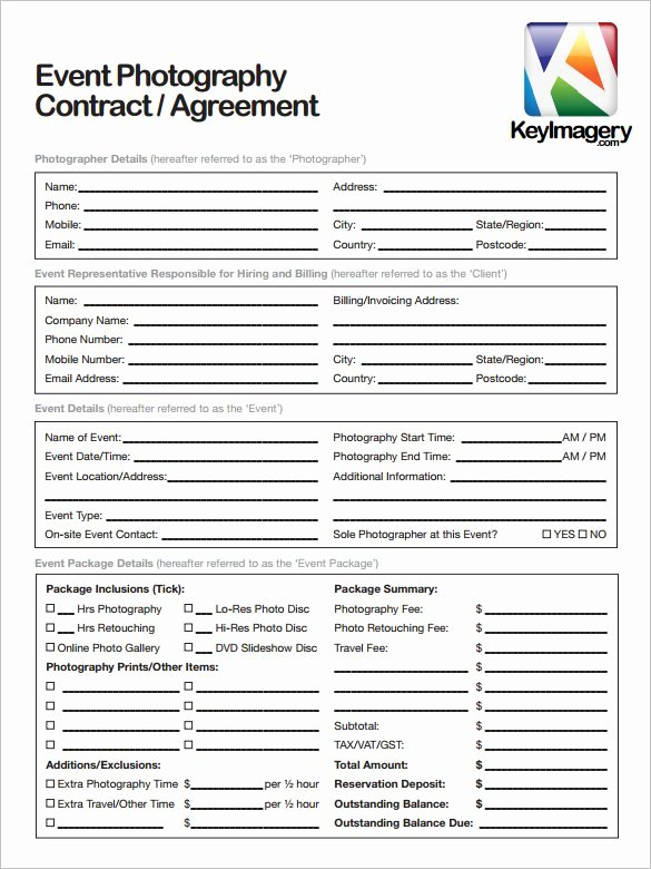 Photography Contract Template Pdf Unique 22 Graphy Contract Templates – Word Pdf Apple Pages Google Docs