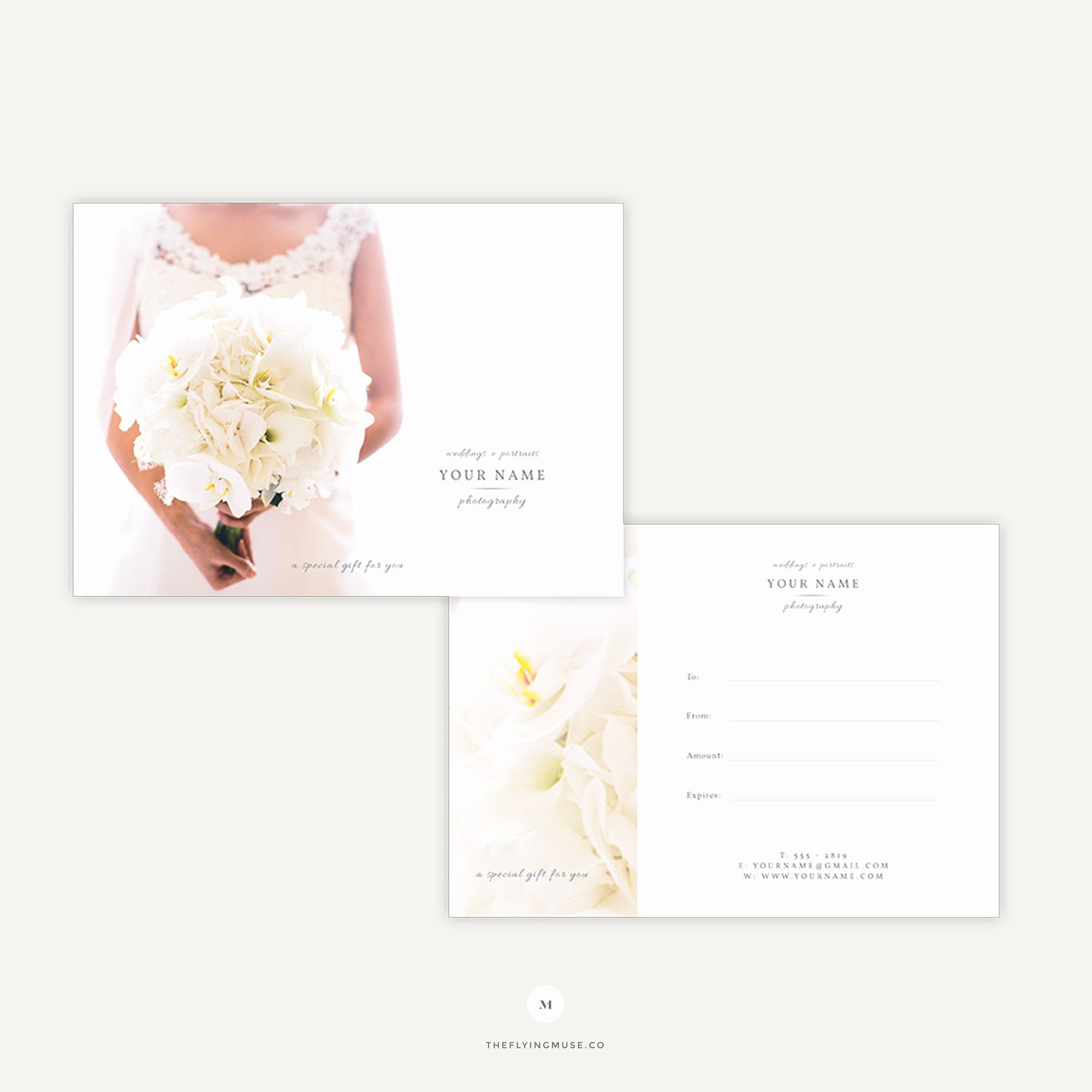 Photography Gift Certificate Template Lovely Elegant Gift Certificate Template for Wedding Graphers the Flying Muse