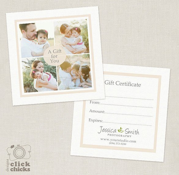 Photography Gift Certificate Template Lovely Graphy Gift Certificate Templates – 17 Free Word Pdf Psd Documents Download