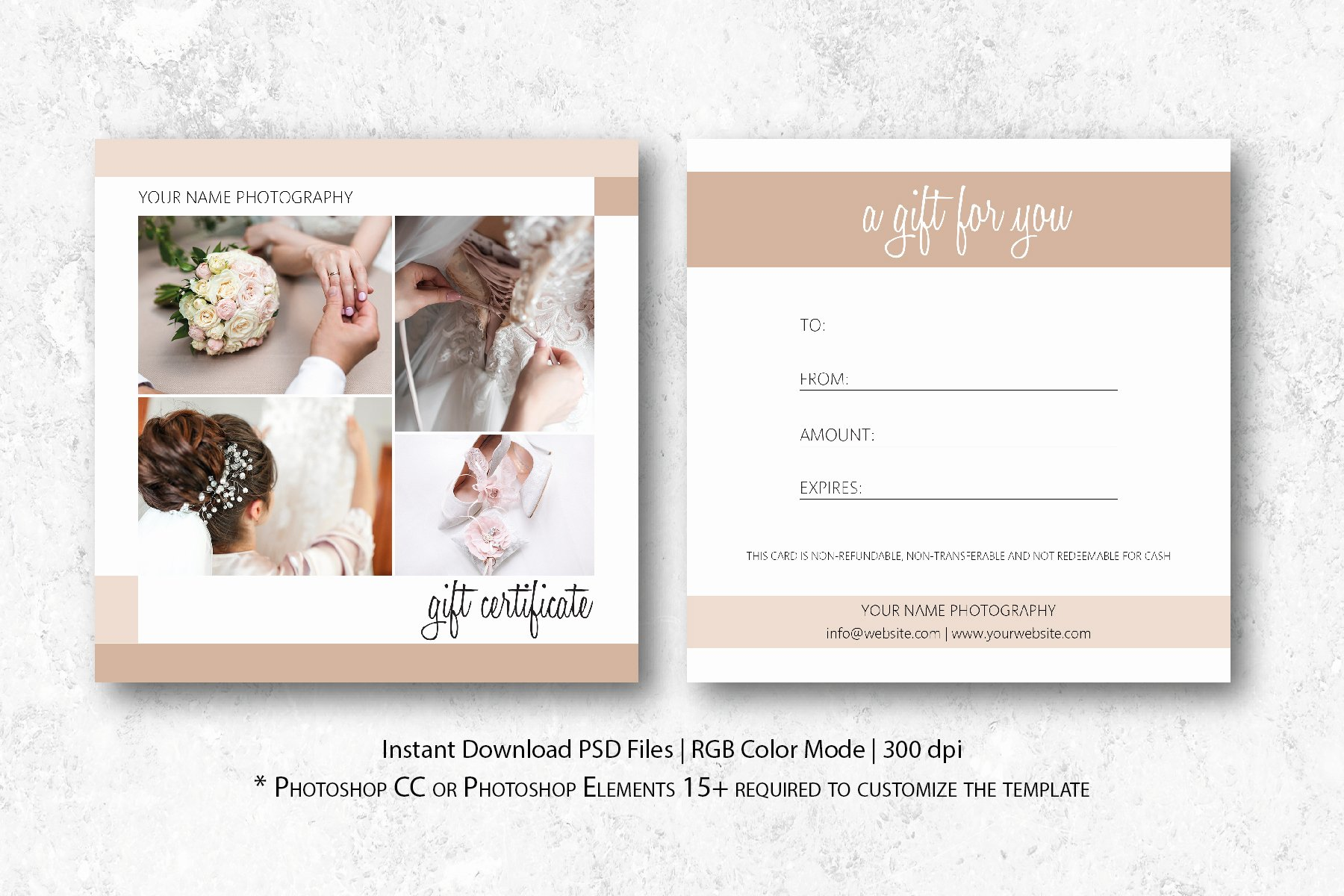 Photography Gift Certificate Template Luxury Graphy Gift Certificate Template