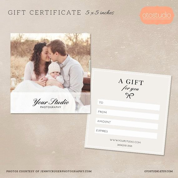 Photography Gift Certificate Template Unique Graphy Gift Certificate Template for Graphers Psd Flat Card Mg003 Graphy