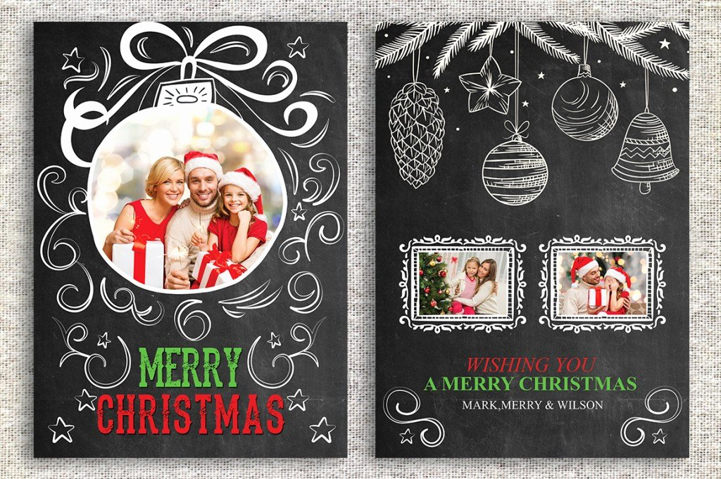 Photoshop Christmas Card Templates Fresh the Best Card Template Shop Fers Right now