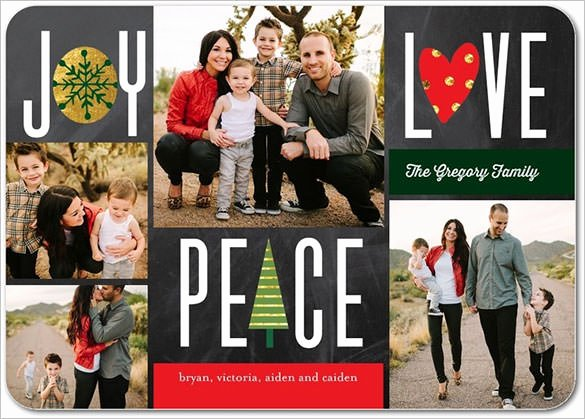 Photoshop Christmas Card Templates Inspirational 150 Christmas Card Templates Free Psd Eps Vector Ai