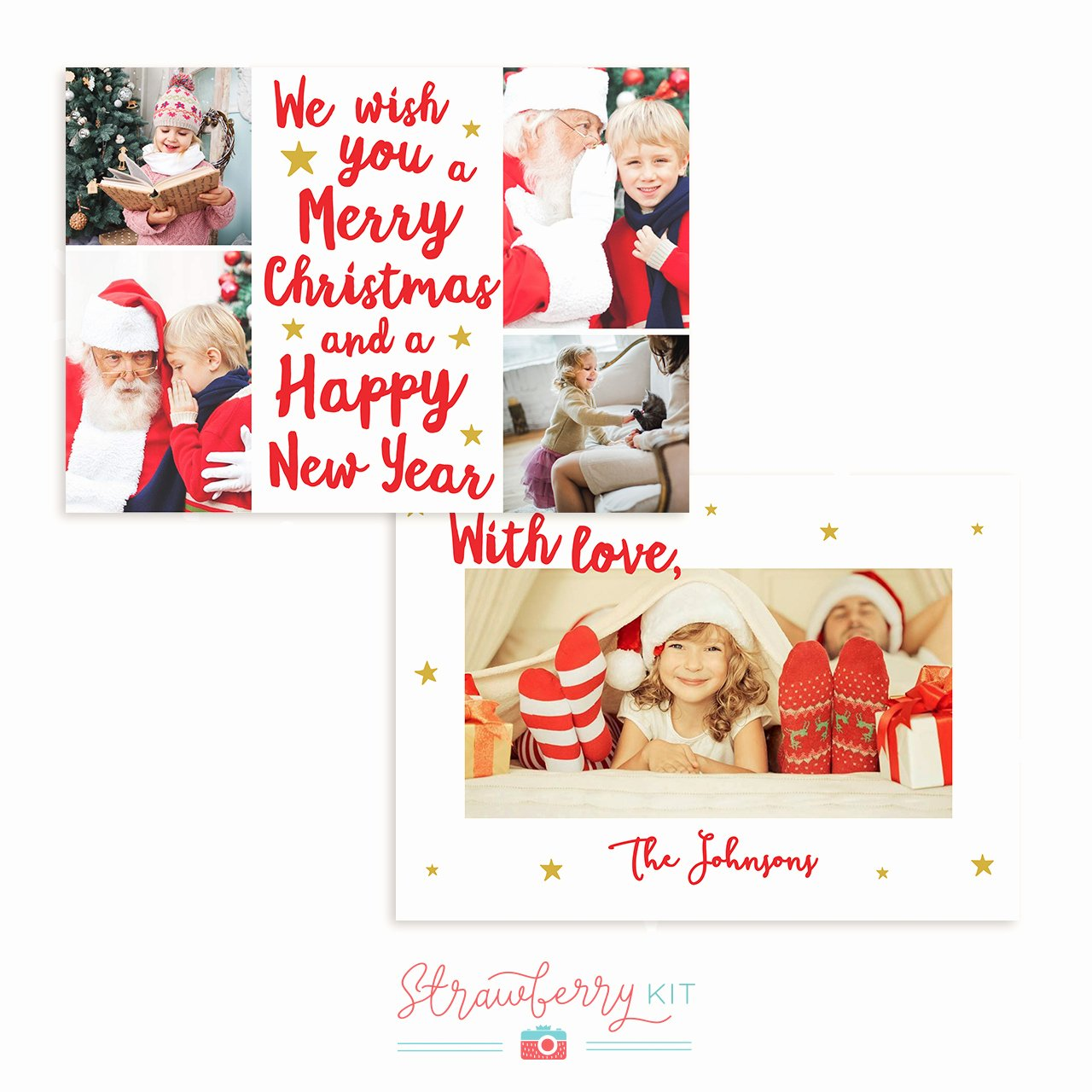 "Photoshop Christmas Card Templates Inspirational ""we Wish You A Merry Christmas"" Hand Lettering Christmas"