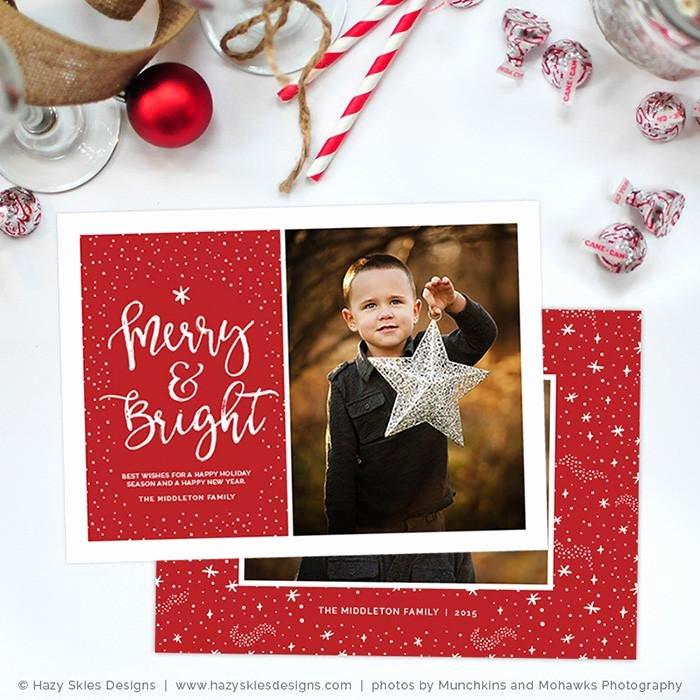 Photoshop Christmas Card Templates Lovely Christmas Card Templates