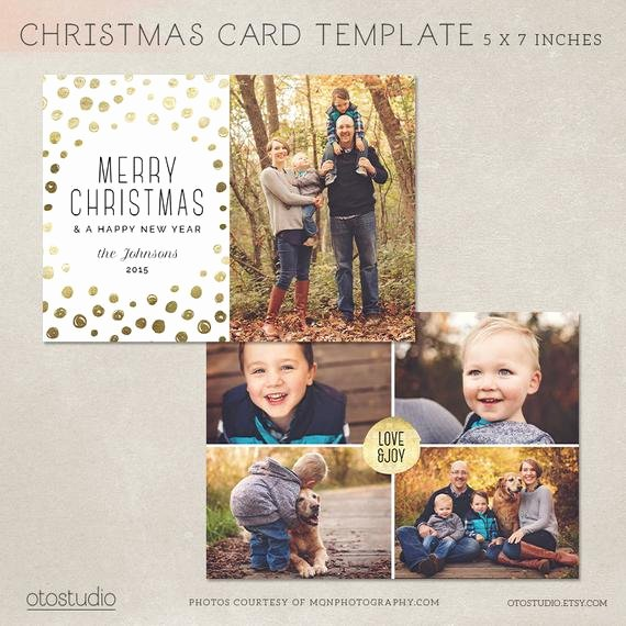 Photoshop Christmas Card Templates Lovely Digital Shop Christmas Card Template for Photographers