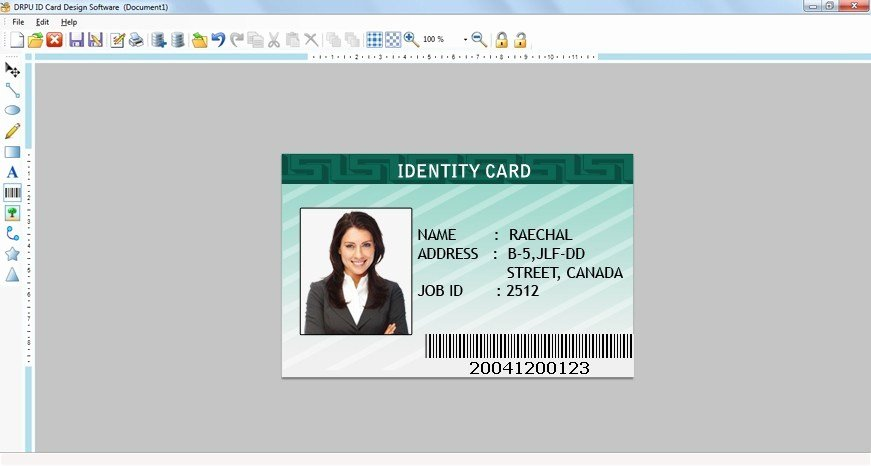 Photoshop Id Card Template Inspirational Free Download Shop Id Cards Templates