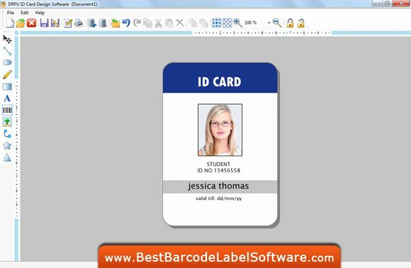 Photoshop Id Card Template Luxury Free Download Shop Id Cards Templates