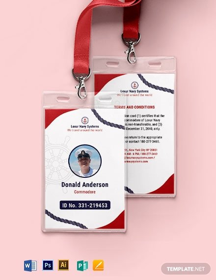 Photoshop Id Card Template Unique 9 Travel Id Card Template Illustrator Pages Indesign Shop Ms Word Publisher