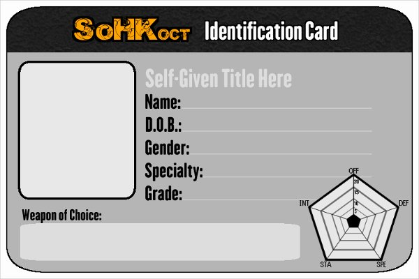 Photoshop Id Card Template Unique Id Card Template
