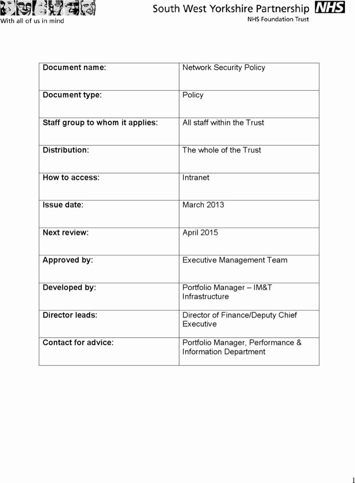 Physical Security Policy Template Unique 7 7 Security Policy Templates Free Download