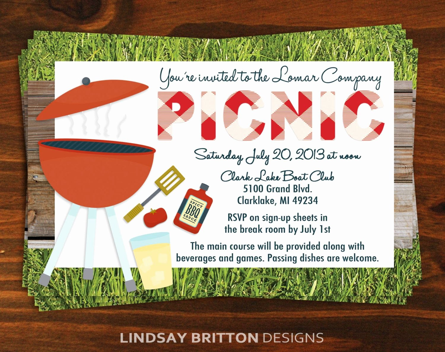 Picnic Invitation Template Free New Family Pany Picnic Invitation by Lindsaybrittondesign Adult Beverages