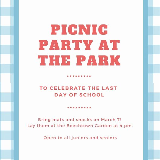 Picnic Invitation Templates Free Fresh Customize 108 Picnic Invitation Templates Online Canva