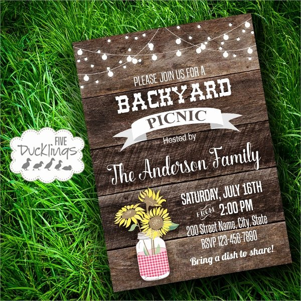 Picnic Invitation Templates Free Inspirational 10 Picnic Invitation Templates Word Psd Ai