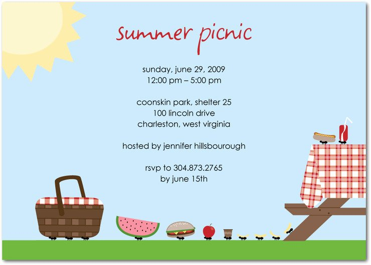 Picnic Invitations Templates Free Beautiful Cupcakes Kisses N Crumbs Picnic Party