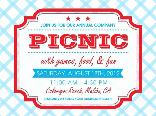 Picnic Invitations Templates Free Best Of Free Printable Picnic Invitation Template Google Search Gemma S Picnic Party Ideas