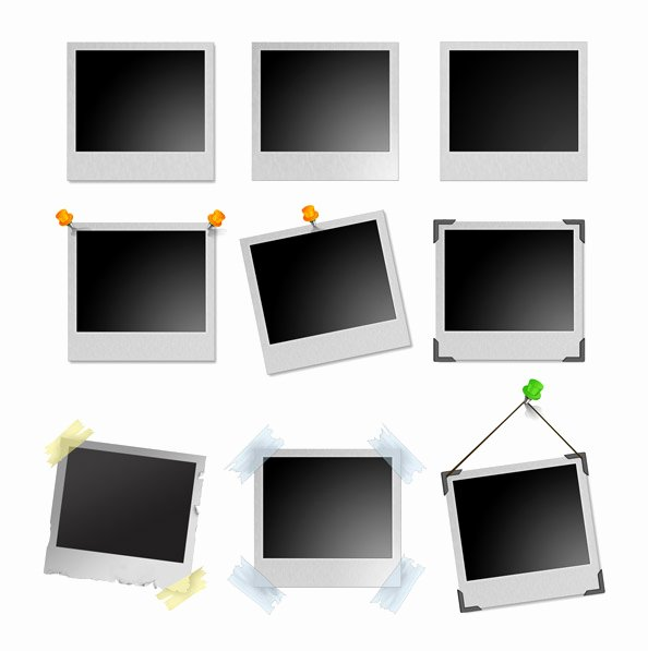 Picture Frame Template Free Best Of Polaroid Frames Ultimate Psd Pack Free Psd Files