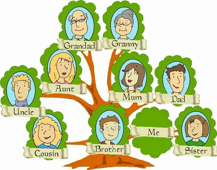 Picture Of A Family Tree Awesome A Family Tree Activity Childs Clipart
