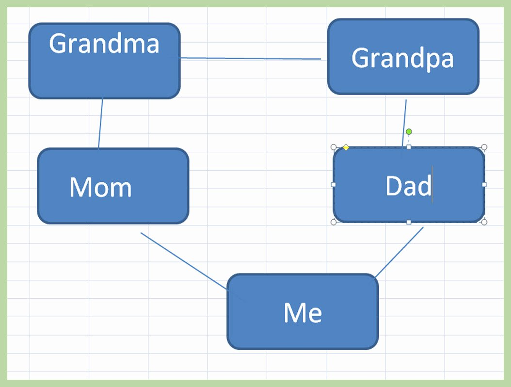 Picture Of A Family Tree Fresh 3 Ways to Make A Family Tree On Excel Wikihow