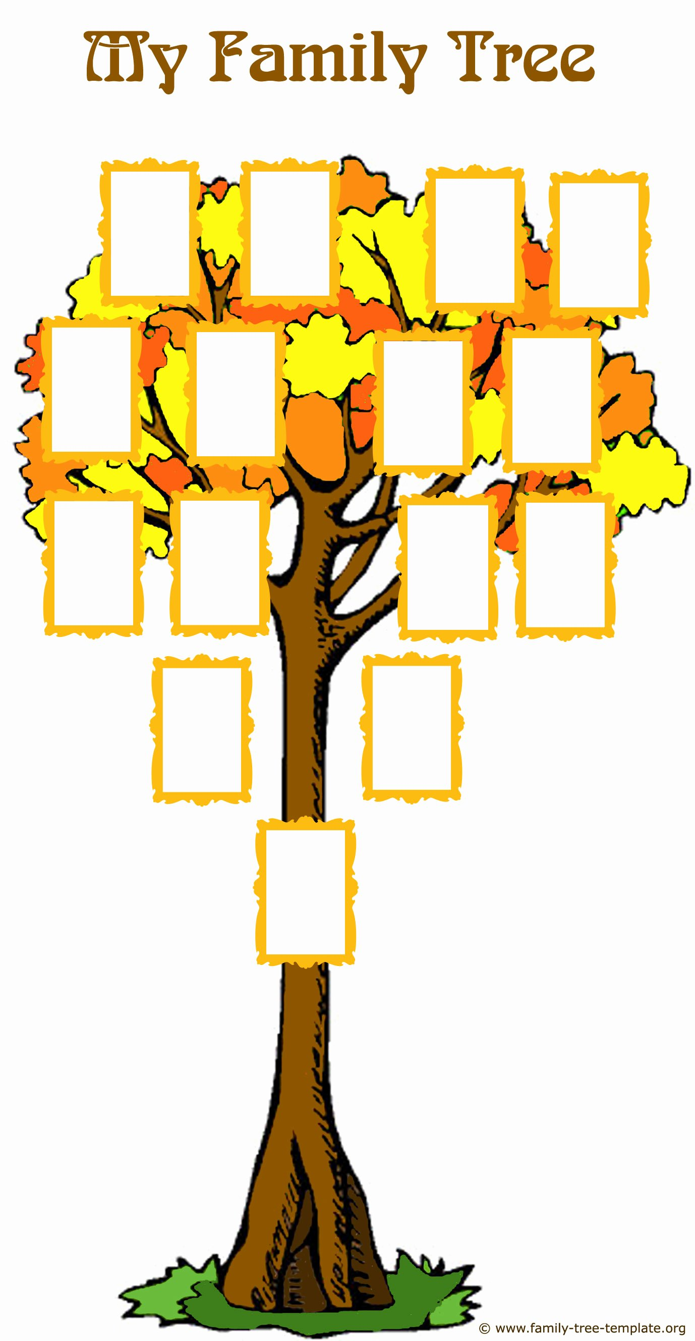 Picture Of A Family Tree Inspirational Fabulous Family Tree forms and Easy Genealogy Methods