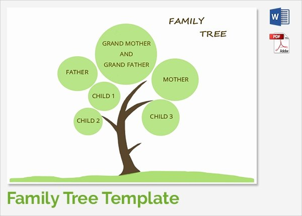 Picture Of A Family Tree Inspirational Sample Family Tree Chart Template 17 Documents In Pdf Word Excel
