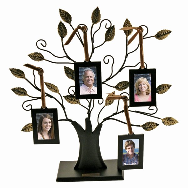 Picture Of A Family Tree Luxury Small Family Tree with 4 Hanging Frames