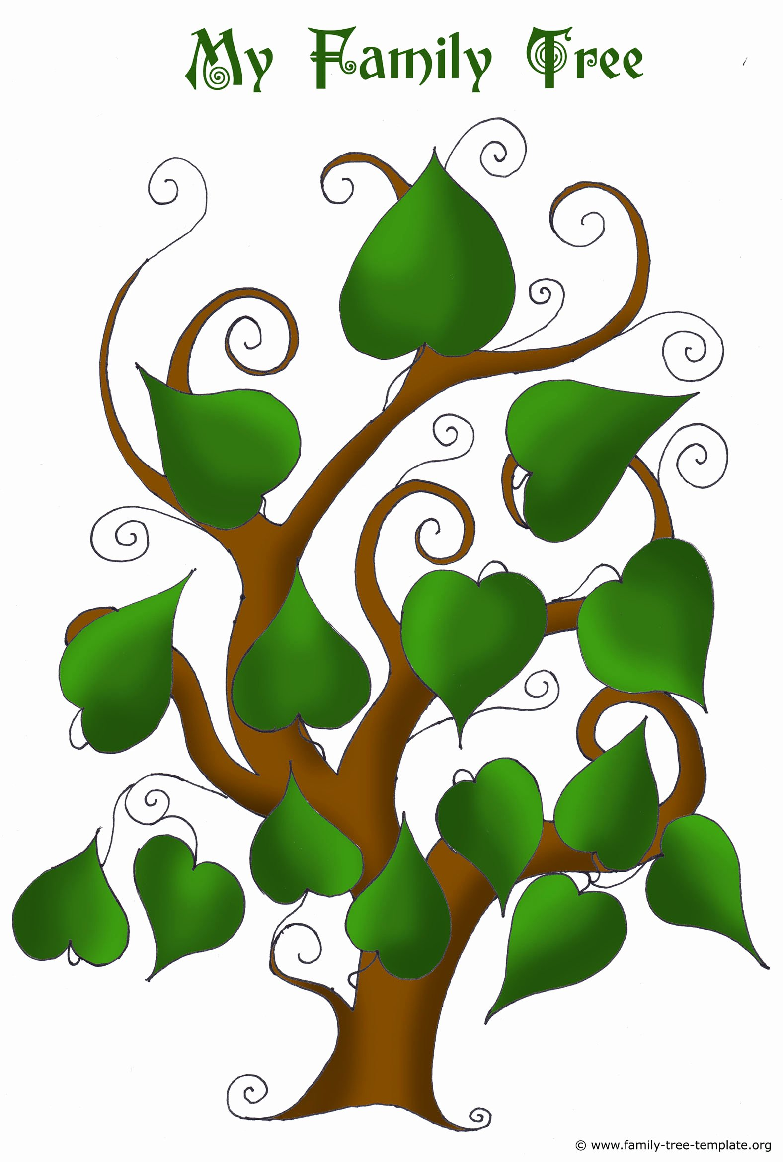 Picture Of Family Tree Beautiful Free Family Tree Templates Using Free Ancestry Information