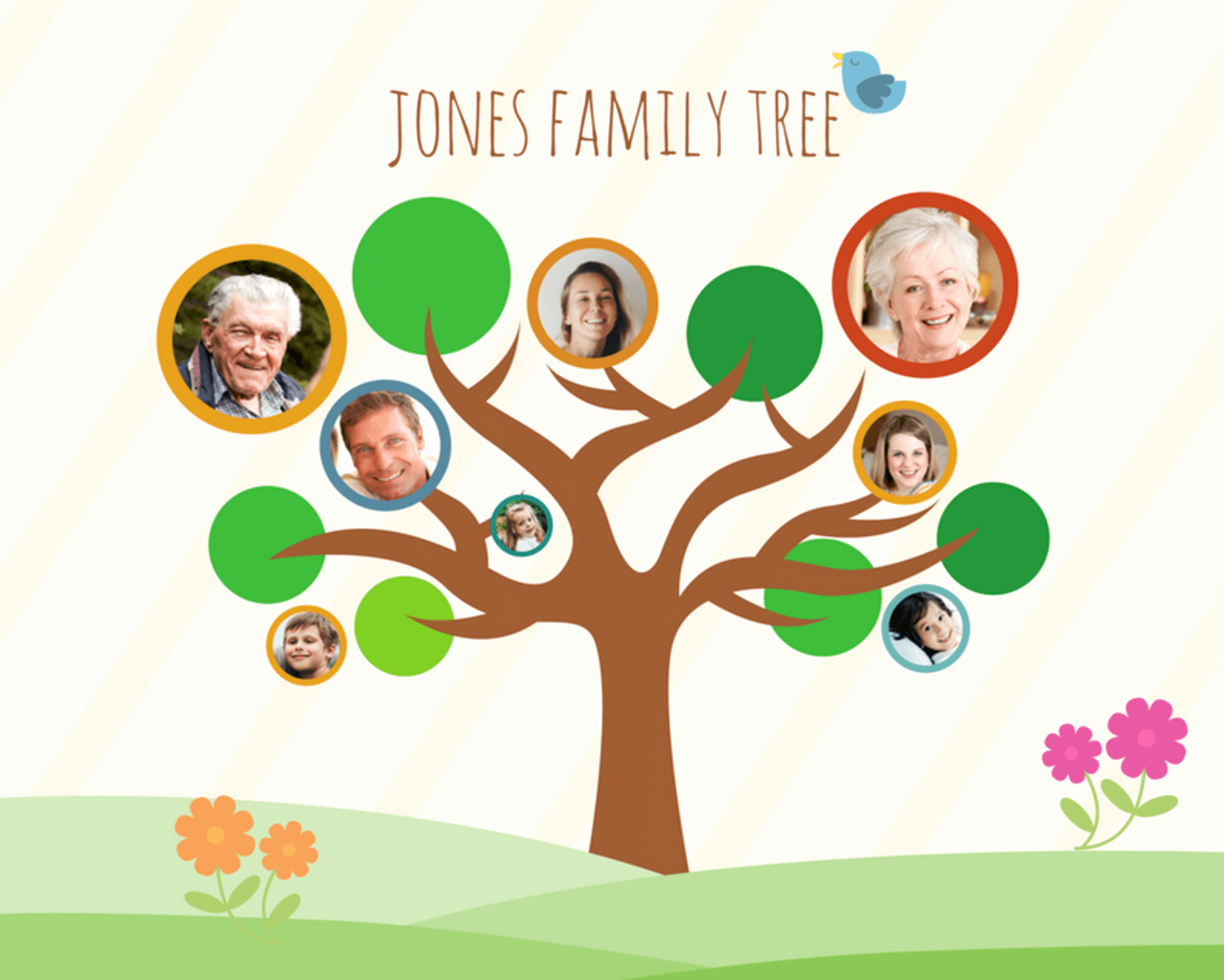 Picture Of Family Tree Beautiful Free Line Family Tree Maker Design A Custom Family Tree