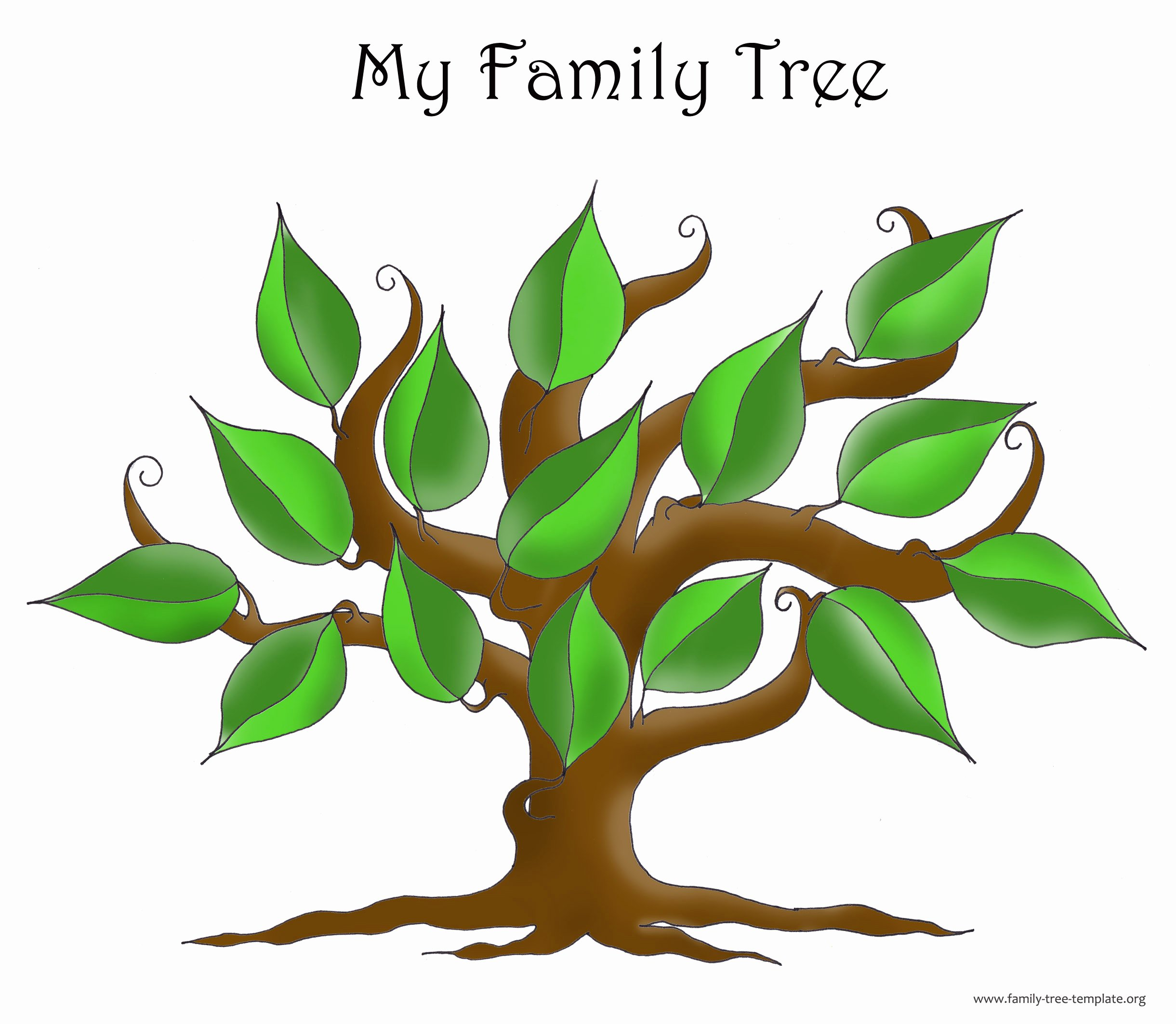 Picture Of Family Tree Inspirational Family Tree Template Resources