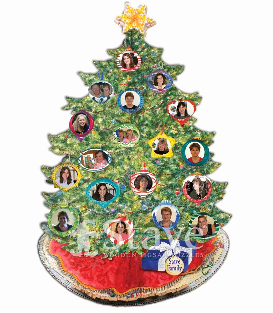 Picture Of Family Tree Unique Family Tree Oh Christmas Tree A Treat Puzzle Stave